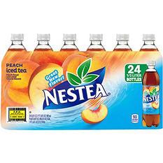 Nestea Iced Tea, Peach (16.9 oz. bottles, 24 pk.)