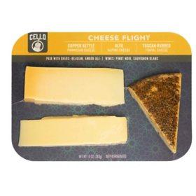 Cello Cheese Flight Trio (10 oz.)