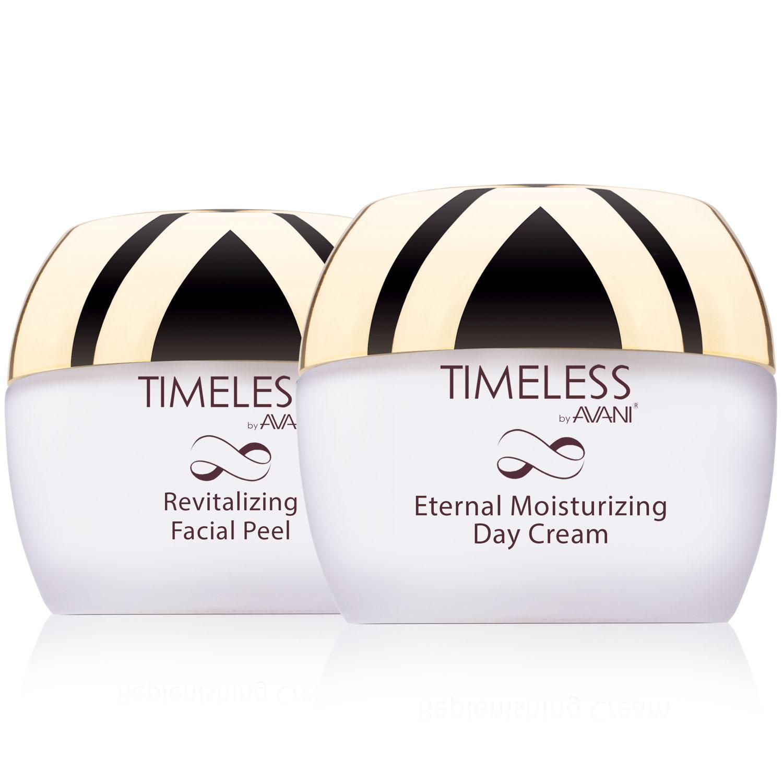 AVANI Dead Sea Eternal Moisturizing Day Cream & Revitalizing Facial Peel Treatment Set (1.7 oz., 2 pk.)