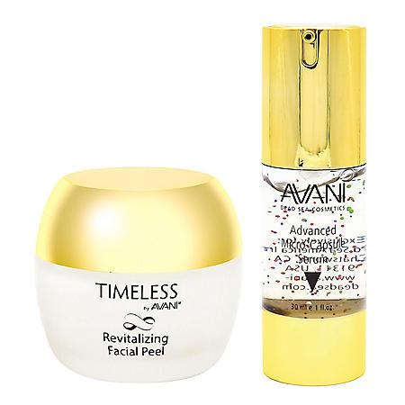 AVANI Nutritive Face & Eye Micro Serum & Revitalizing Facial Peel