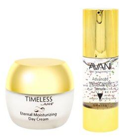 AVANI Nutritive Face & Eye Micro Capsule Serum & Moisturizing Day Cream