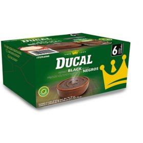 Ducal Refried Black Beans (15 oz., 6 pk)