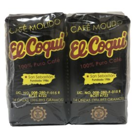 Cafe El Coqui Ground Coffee Twin Pack (14 oz.)