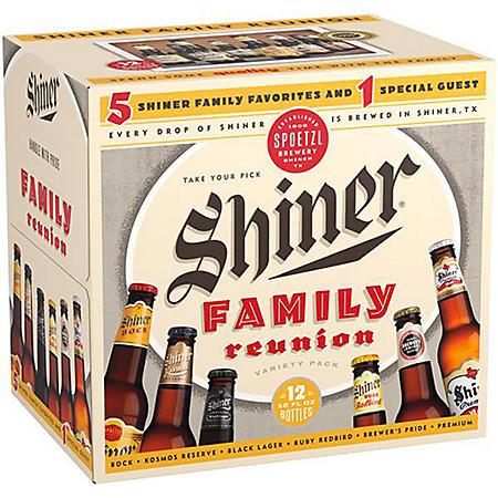 Shiner Family Reunion (12 fl. oz. bottle, 12 pk.)