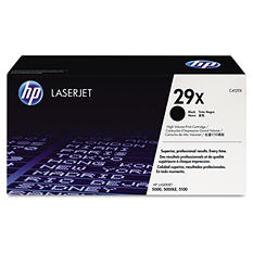 HP 29X Original Laser Jet Toner Cartridge, Black (10,000 Yield)