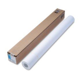 "HP Designjet Inkjet Large Format Paper, 4.5 mil, 36"" x 150 ft, White"