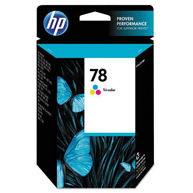 HP Model C6578DN No. 78 Tricolor Inkjet Cartridge