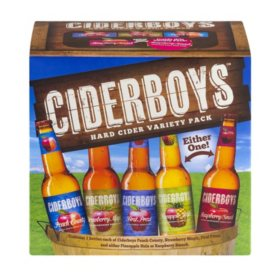 Ciderboys Hard Cider Variety (12 fl. oz. bottle, 12 pk.)