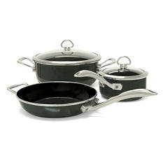 Chantal Copper Fusion 5-Piece Cookware Set (Assorted Colors)