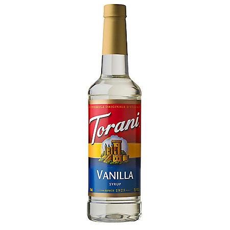 Torani Vanilla Syrup (750 mL)