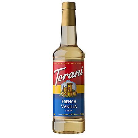 Torani French Vanilla Syrup (750 mL)