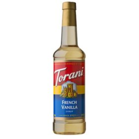 Torani French Vanilla Syrup (750 mL)
