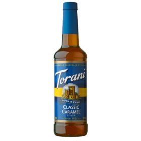 Torani Sugar-Free Classic Caramel Syrup (750 mL)
