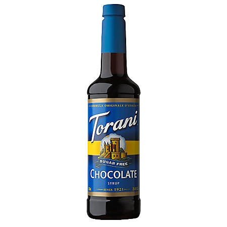 Torani Sugar-Free Chocolate Syrup (750 mL)