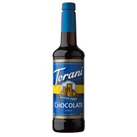 Torani Sugar-Free Chocolate Syrup (750 mL)