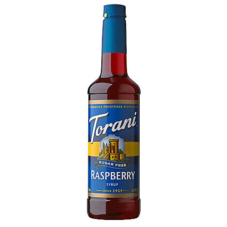 Torani Sugar-Free Raspberry Syrup (750 mL)