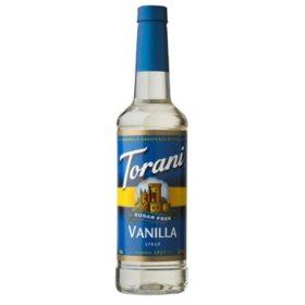 Torani Sugar-Free Vanilla Syrup (750 mL)