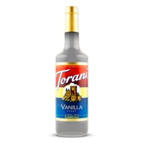 Torani Vanilla Syrup (1 L bottle)