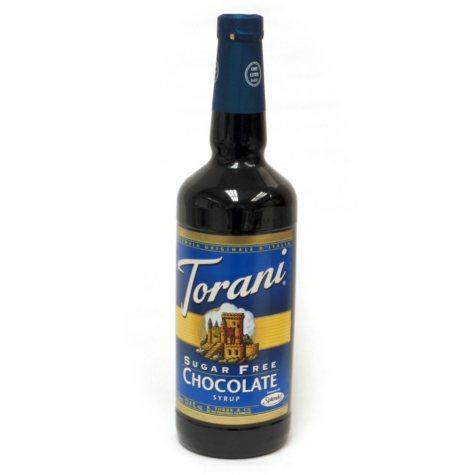 Torani Sugar Free Chocolate Syrup - 3 pk. - 1 L