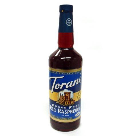Torani Sugar Free Red Raspberry Syrup - 3 pk. - 1 L