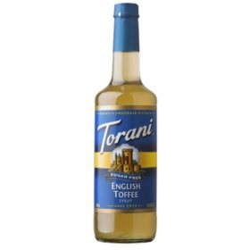 Torani Sugar-Free English Toffee Syrup (750 mL)