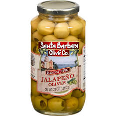 Santa Barbara Olive Co. Jalapeño Olives - 21oz