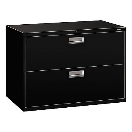 HON 600 Series Two-Drawer Lateral File, 42w x 18d x 28h, Assorted Colors