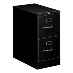 "HON 25"" 510 Series 2-Drawer Letter File Cabinet, Select Color"
