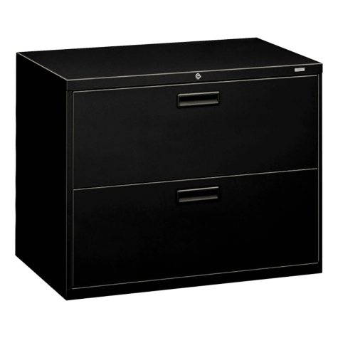 """HON 36"""" 500 Series 2-Drawer Letter/Legal Lateral File Cabinet, Select Color"""