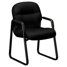 HON 2090 Pillow-Soft Series Guest Arm Chair, Black