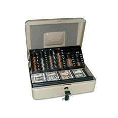 PM Company® 3-in-1 Cash/Change Security Box