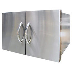 "Cal Flame 30"" Built-In Stainless Steel Door and Drawer Combo"