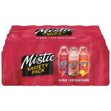 Mistic Tropical Variety Pack (16 oz. ea., 24 pk.)