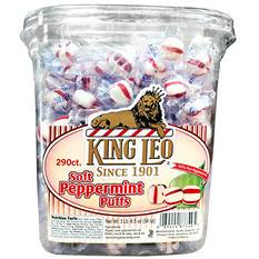 King Leo  Soft Peppermint Puffs - 290 ct.