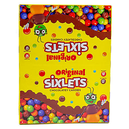 Sixlets Candy - 0.36 oz. tubes - 36 ct.