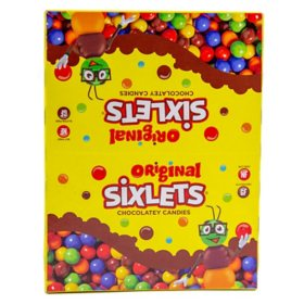Sixlets Candy - 0.36 oz. tubes - 36 ct.