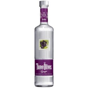 Three Olives Grape Flavored Vodka (750 ml)
