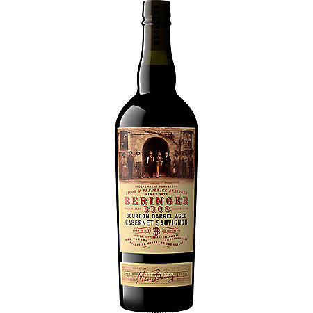 Beringer Bros. Bourbon Barrel Aged Cabernet Sauvignon (750 ml)