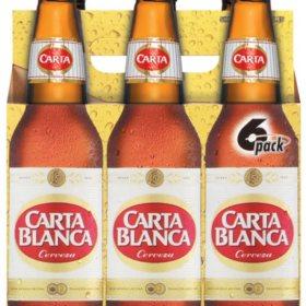 Carta Blanca Cerveza (12 fl. oz. bottle, 6 pk.)