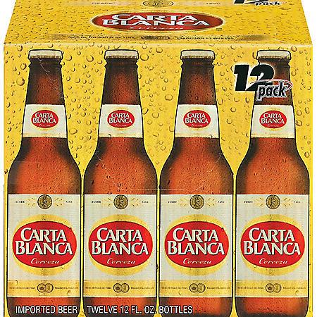 Carta Blanca Cerveza (12 fl. oz. bottles, 12 pk.)