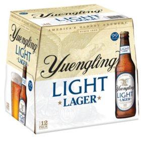 Yuengling Light Lager (12 fl. oz. bottle, 12 pk.)