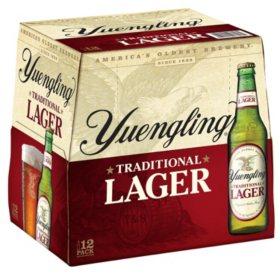 Yuengling Lager Beer (12 fl. oz. bottles, 12 pk.)