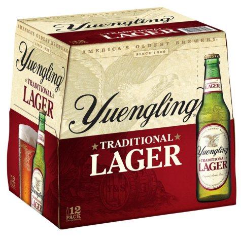 Yuengling Lager Beer (12 fl. oz. bottle, 12 pk.)