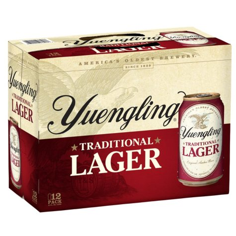 YUENGLING  LAGER 12 / 12 OZ CANS