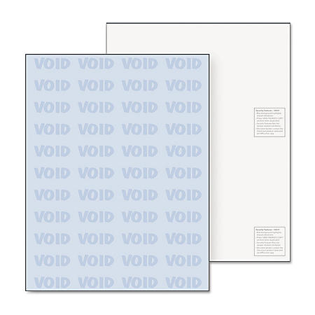 "DocuGard Security Paper, Blue, 8-1/2"" x 11"" - 500/Ream"