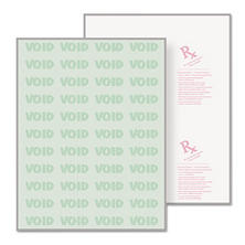 DocuGard - DocuGard Security Paper, 8-1/2 x 11, Green -  500/Ream