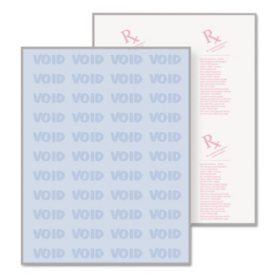 DocuGard - DocuGard Security Paper, 8-1/2 x 11, Blue -  500/Ream