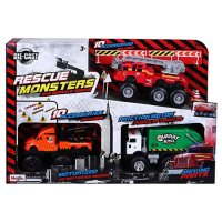 Maisto 3-Pack Monster Vehicles (Styles and Colors May Vary)