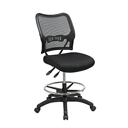 SPACE Seating Ergonomic AirGrid Drafting Chair