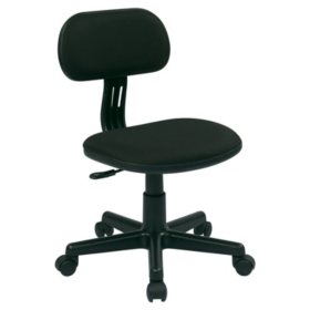 OSP Home Furnishings Student Task Chair in Various Fabric Colors
